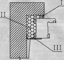Схема монтажного шва