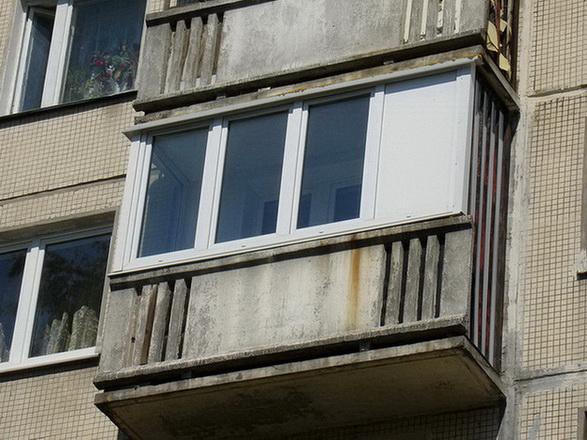 Ограждение балконов серия п 3.