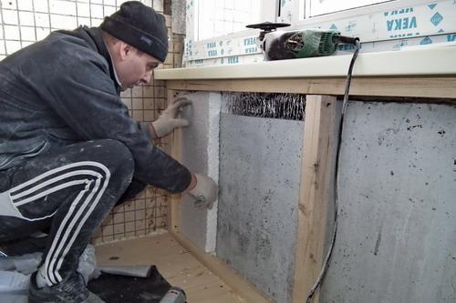Утеплить балкон своими руками пенопластом видео