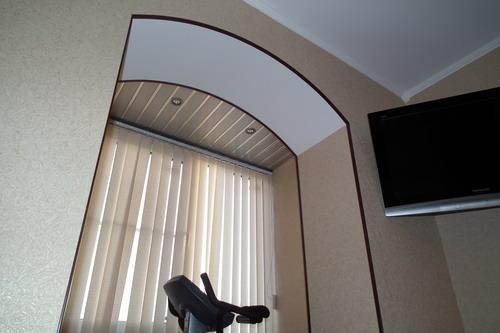 Арка на балкон фото