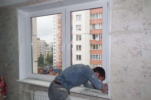 Установка окон пвх в панельном доме