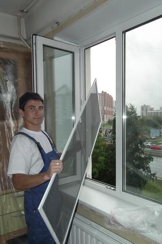 Пластиковые окна старый