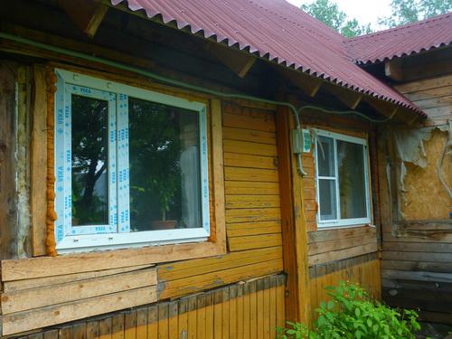 Дешевые дачные окна